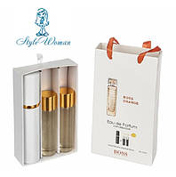 Подарочный набор мини парфюмерии Hugo Boss Boss Orange Хьюго Босс Босс Оранж с феромонами 3*15мл