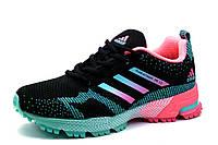 Кроссовки Adidas Marathon TR 13, женские/подросток, черные, р .39, фото 1