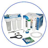 Система очистки воды,четырехступенчатая система под кухонную мойку, FP3-HJ-K1