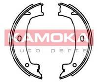 Колодка тормозная bmw 1 (e87) 05'-;3 (e46) 98'-05';3 (e90) 05 барабанная (стояночн. тормоз) компл. (производство KAMOKA ), код запчасти: JQ212043
