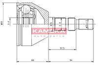 Шрус наружн. 33/26/52,25мм opel astra h 2004- (производство KAMOKA ), код запчасти: 6037