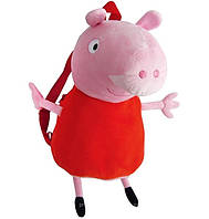 Мягкая игрушка Пеппа рюкзак детский 52 см, Peppa