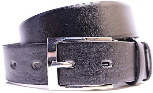 Шикарный мужской ремень из искусственной кожи LAZAR (ЛАЗАР), CFL35C1SH10 черный