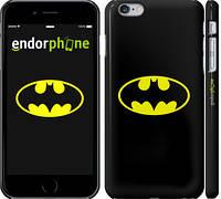 """Чехол на iPhone 6s Plus Бетмен логотип """"3201c-91"""""""