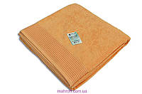 Простынь махровая полуторная 100% хлопок, Terry Lux, 150*200, цвет олива