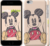 "Чехол на iPhone 6 Нарисованный Мики Маус ""2731c-45"""