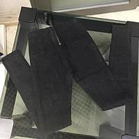 Стрейчевые джинсы с высокой талией