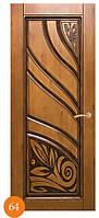 Входные стальные двери Термопласт™ накладки МДФ Модель 64