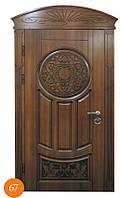 Входные стальные двери Термопласт™ наличник МДФ Модель 67