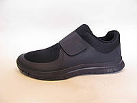 Кроссовки мужские  Nike Free Run 3.0 сетка, синие на липучке (найк фри ран)р.40,43