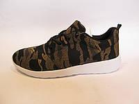 Кроссовки мужские SAYOTA текстиль, коричневые (версия Nike Roshe Run)р.43,44,45,46