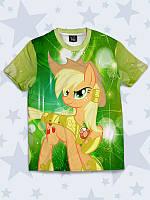 Прикольная футболка Applejack