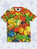 Детская футболка Gummy bears с прикольным рисунком.