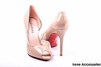Туфли женские лаковые Apricot (color) Glossi с 35 Размера