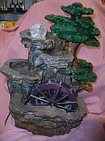 """Водопад большой с подсветкой """"Скала"""" 40 сантиметров высота"""