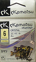 Крючок Kamatsu Crystal №6 К-112 (10шт)