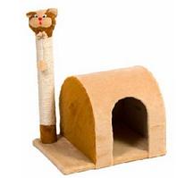 "Когтеточка (дряпка) Природа ""Кошка дом"" для кошек 37х53х46 см"