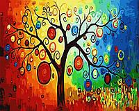 Картина по номерам Дерево богатства (CG230) 40 х 50 см