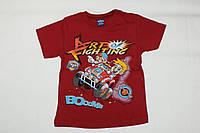 Летняя футболка 2-3-4-5 лет для мальчика Гонка