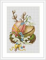 """Набор для вышивания нитками  """"Пасхальные яйца"""""""