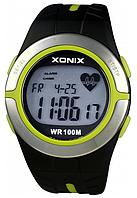 Часы спортивные для дайвинга Xonix HRM2 с пульсометром. Водозащита 100м.