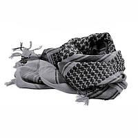 Серая куфия-платок