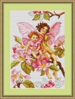 """Набор для вышивания нитками  """"Цветы яблони"""""""