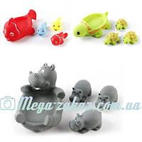 """Пищалка """"Любимые животные"""" (игрушка для ванной): 3 вида"""