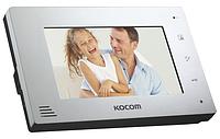 Видеодомофон  KOCOM KCV-A374SD mono BLACK / WHITE