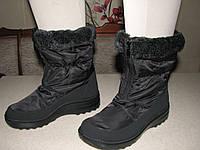 Тигина сапоги-дутики зимние женские р.37,39,40,41 черные