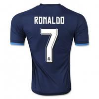 Футбольная форма Реал Мадрид Роналдо 2015-2016 Выездная (синяя)