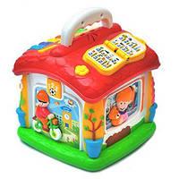 Развивающая игрушка Говорящий домик