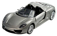 Porsche 918 Машинка на радиоуправлении Meizhi лицензионная  металлическая (ВИДЕО) MZ-25045A
