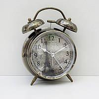 Часы-будильник с подсветкой (рисунок Эйфелева башня)