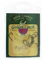 Крючки рыболовные (7 размер) Golden Catch BIG CLAW