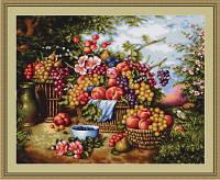 """Набор для вышивания нитками  """"Натюрморт на фоне природы"""""""