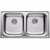 ULA Кухонная мойка из нержавеющей стали ULA HB 5104 ZS Satin