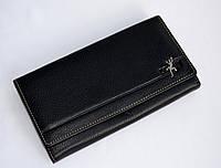 Кожаный кошелек cosset (100% натуральная цельная кожа)