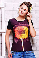 Модная летняя футболка с ярким принтом на каждый день