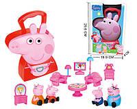 Игровой набор Свинка Пеппа семья, кейс