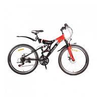 Велосипед двухподвес  Titan Infinity 26