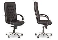 Кресло руководителя FIDEL STEEL CHROME (офисное, для дома , компьютерное)