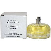 BURBERRY WEEKEND for WOMEN EDP TESTER 100 ml парфумированная вода женская тестер (оригинал подлинник  Великобр