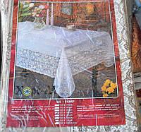 Скатерть кружевная Винил 137x180