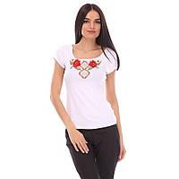 Женская футболка вышиванка Орнамент Ромбы