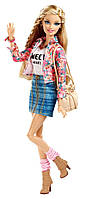 Кукла Барби цветочный жилет Barbie Style