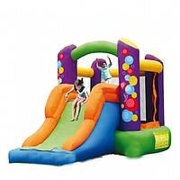 Надувной игровой комплекс, горка для детей