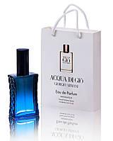 Мини парфюм Giorgio Armani Acqua di Gio pour homme в подарочной упаковке 50 ml