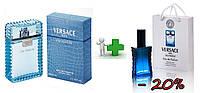 Versace Man Eau Fraiche 100 ml + подарочный набор Versace Man Eau Fraiche 50 ml