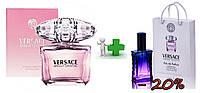 Versace Bright Crystal 90 ml + подарочный набор Versace Bright Crystal 50 ml